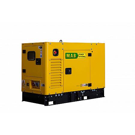 Дизельный генератор 12 кВтM.A.B. POWER SYSTEMS APD12MAв кожухе
