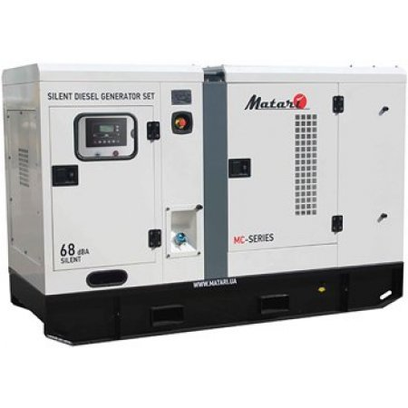 Дизельный генератор 30 кВт Matari MC30 в кожухе