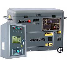 Дизельный генератор 5 кВт Matari MDA7500SE-ATS в кожухе