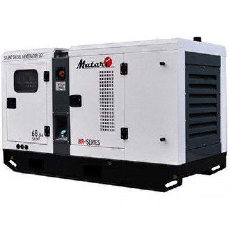 Дизельный генератор 20 кВт Matari MR 18 в кожухе