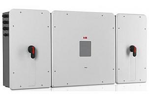 Новый коммерческий инвертор для солнечных батарей от ABB на 50кВт