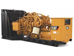 Новый резервный газовый генератор на природном газе от Caterpillar