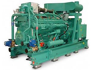 CUMMINS представил модернизированный газовый генератор QSK60