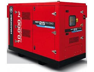 Новый газовый генератор HIMOINSA с интервалом обслуживания каждые 10 000 моточасов