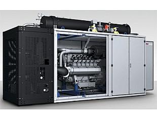 Модульный газовый генератор MTU с двигателем серии 400