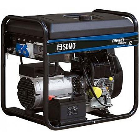 Электрогенератор дизельный SDMODiesel 10000 E XL C открытого типа