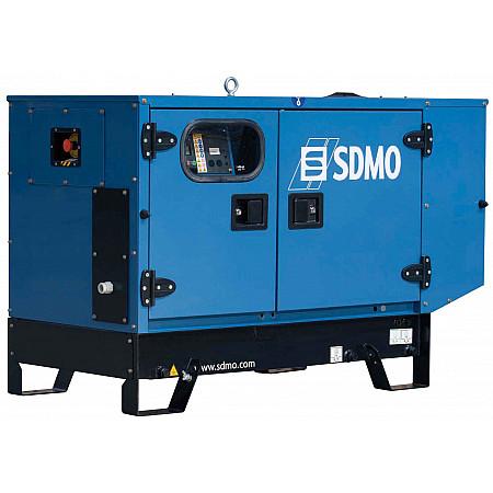 Дизельный генератор 10 кВт SDMO T12HKв кожухе