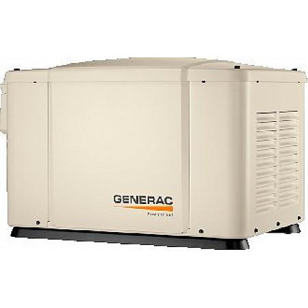 Газовый генератор 5,6 кВт GENERAC 6520 в кожухе