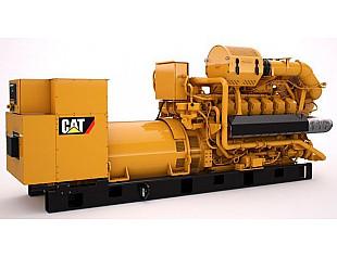 Газовый генератор CATERPILLAR модели G3512H на 1500 кВт с эффективностью 44,9%