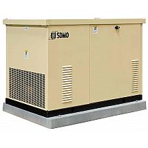 Газовая электростанция SDMO RES 16 TEC в кожухе