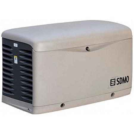 Газовый генератор 15 кВт SDMO RESA 20 TEC в кожухе
