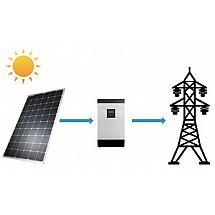 Солнечная электростанция для дома 12 кВт