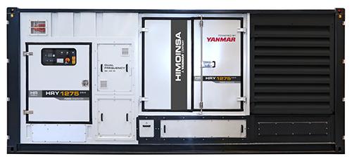 Промышленный дизельный генератор HIMOINSA HRYW-1275 D5/6