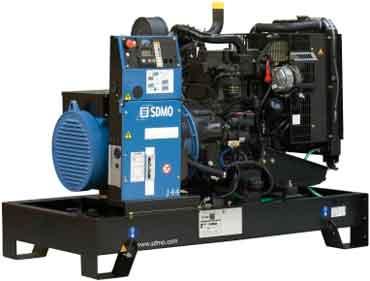 Дизельный генератор SDMO (Франция)
